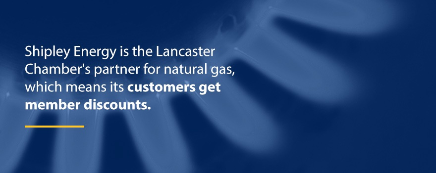 Shipley Energy and Lancaster chamber natural gas partnership