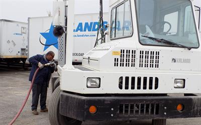 fueling truck