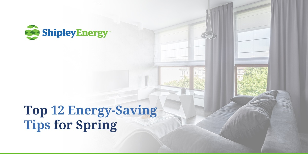 Top 12 Energy-Saving Tips for Spring