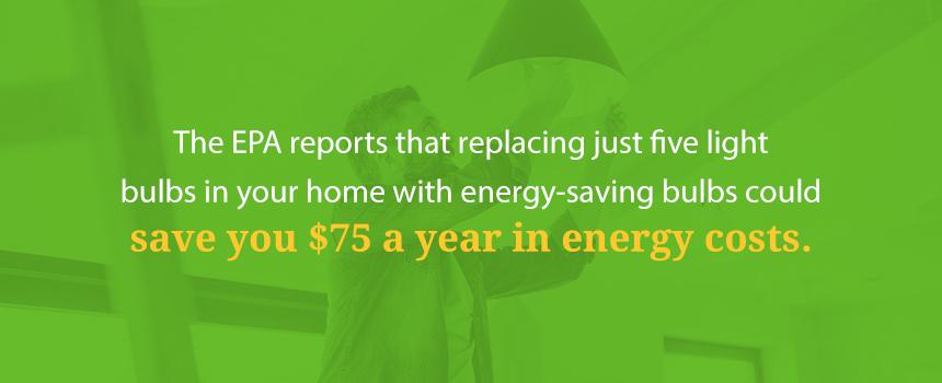 Invest in Energy-Saving Lighting