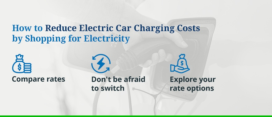 How to Reduce Electric Car Charging Costs by Shopping for Electricity