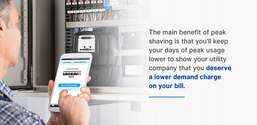 Peak Shaving Can Reduce Demand Charges