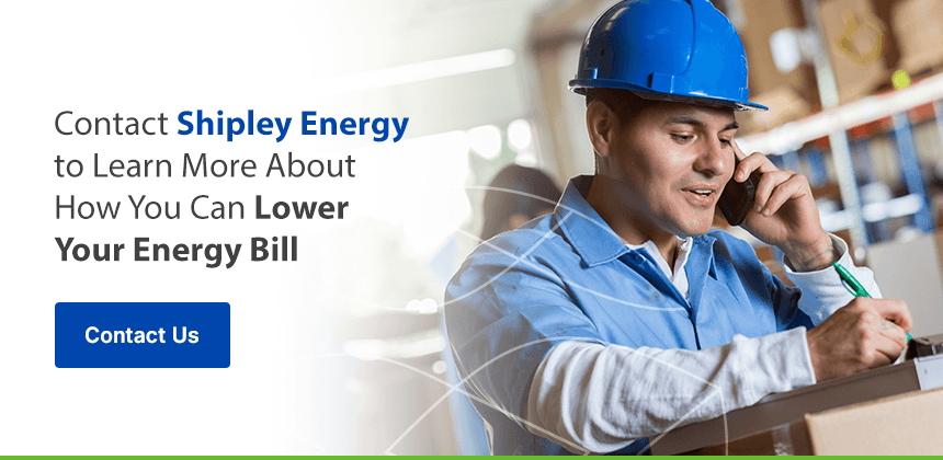 Contact Shipley Energy to Learn More About How You Can Lower Your Energy Bill