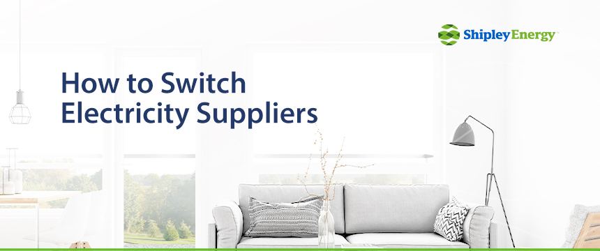How to Switch Electricity Suppliers
