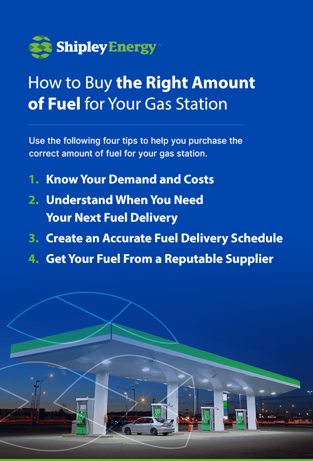 How to Buy the Right Amount of Fuel for Your Gas Station