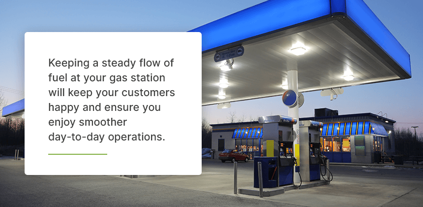 Create an Accurate Fuel Delivery Schedule