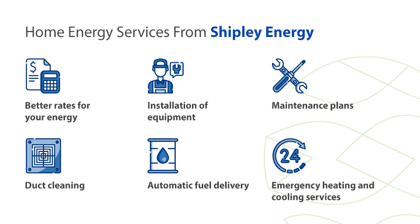 Home Energy Services From Shipley Energy