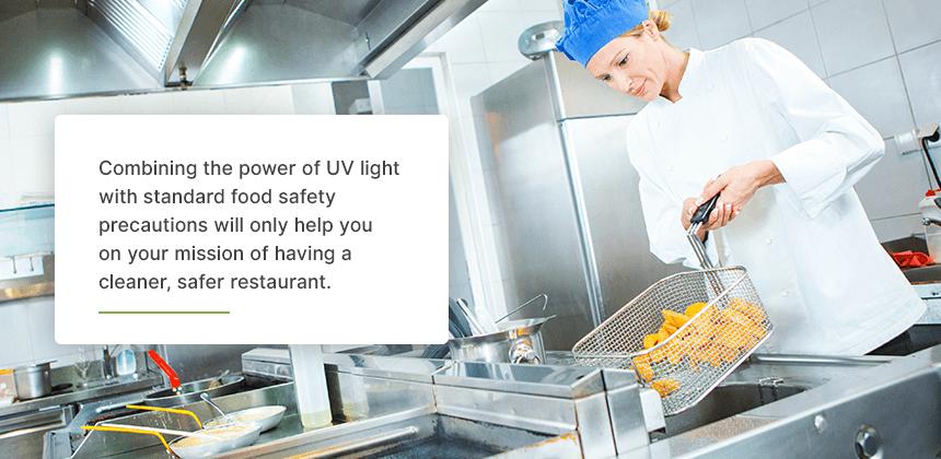 Sanitize Food Prep Workstations