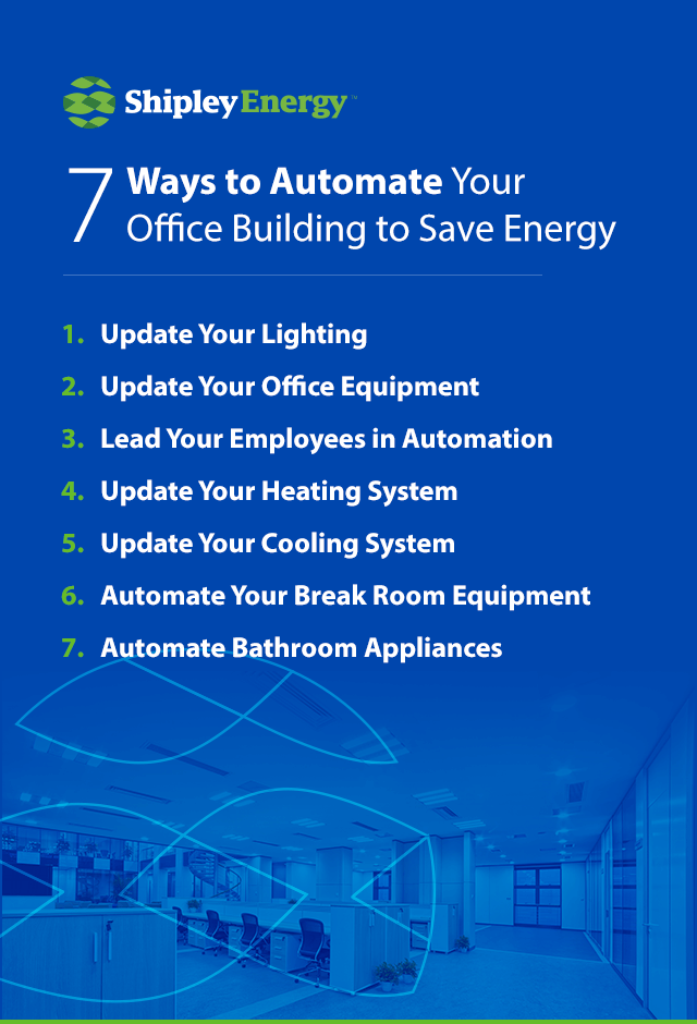 7 Ways to Automate Your Office Building to Save Energy